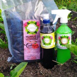 Bio-Fertilizante, Bio-Controlador, Humus de lombríz sólido, Sustrato para Orquídeas