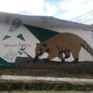 Elaboración de murales, jornadas de educación ambiental y embellecimiento urbanístico.